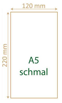 A5 schmal