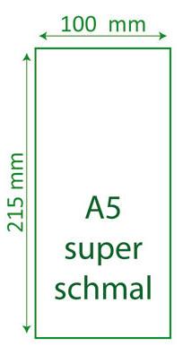 A5 superschmal