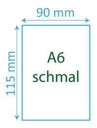 A6 schmal