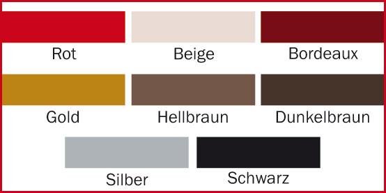 Hartfoliensteckkarten-Farbe