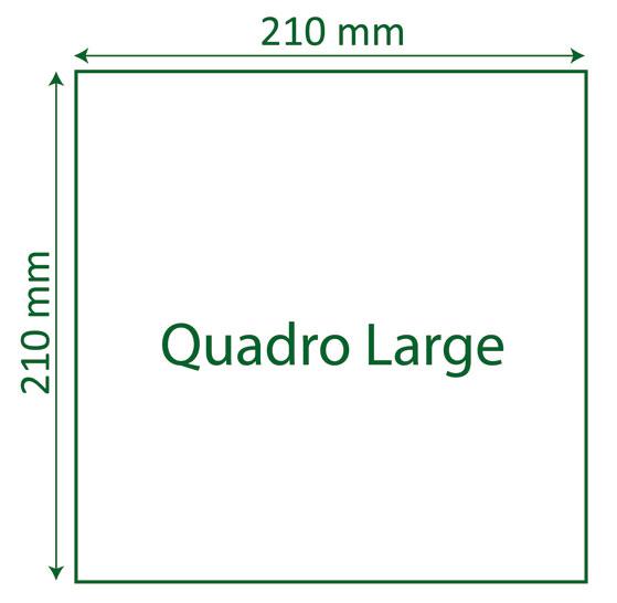 Format Quadro Large